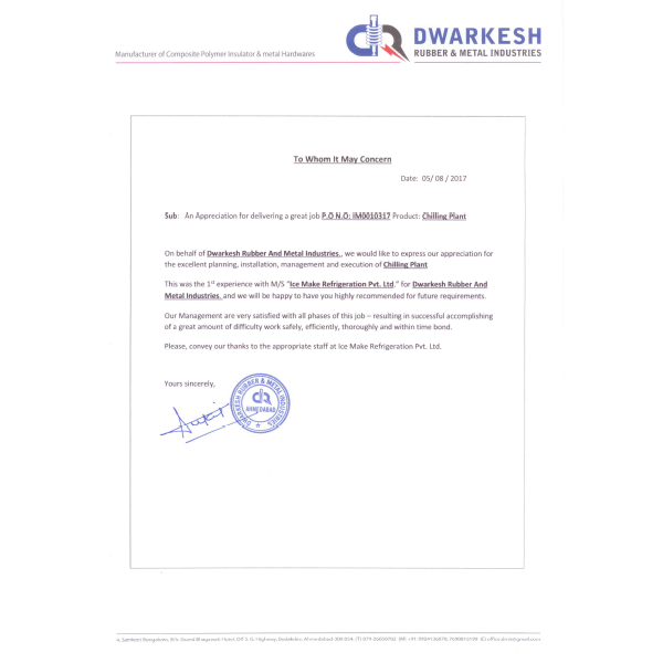 Dwarkesh Rubber & Metal