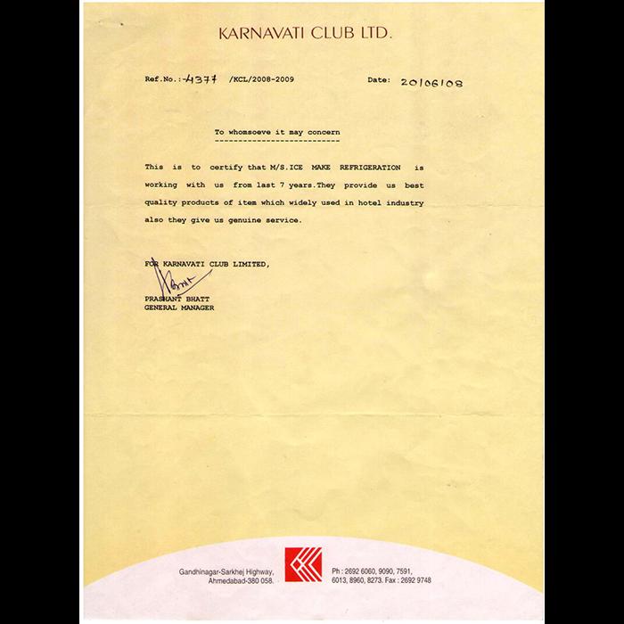 Karnavati Club Ltd.